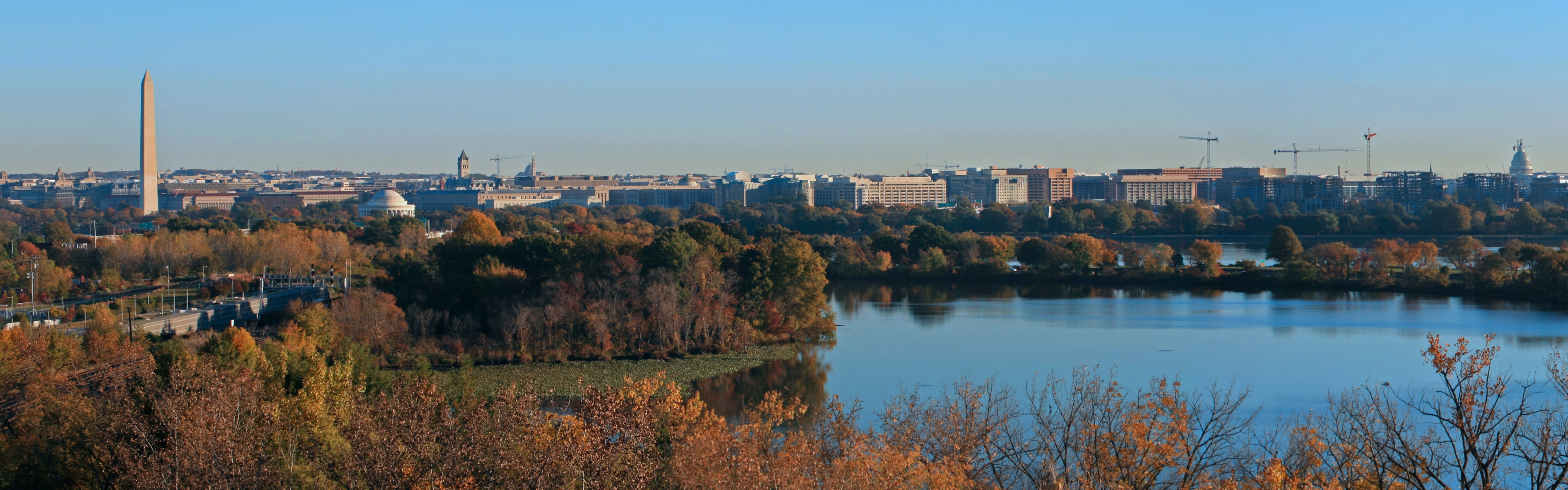 Washington DC in the Fall