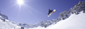 Winter Games Europe Snowboarder